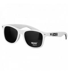 Huesos gafas blancas