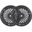 Ruedas Root Industries Lotus 120x30mm negro 2pcs