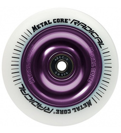 Metal Core Radical 110 mm violeta blanco redondo