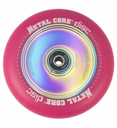 Metal Core Disco 110 mm círculo rosa