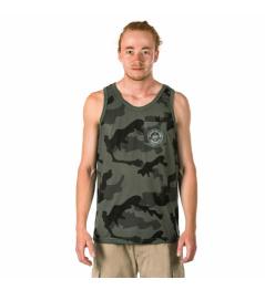 Camiseta interior Horsefeathers Five olive camo 2018 vell.XL