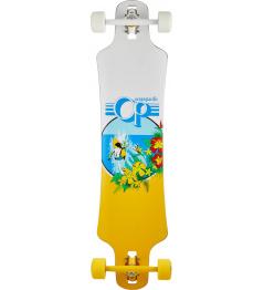"Longboard completo Ocean Pacific Double Drop (38 ""| Blanco)"