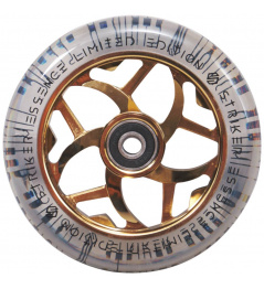 Wheel Striker Essence V3 Transparente 110 mm Oro Cromado