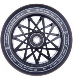 Rueda de scooter Striker Zenue Series negra (110 mm   Negro)