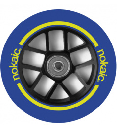 Rueda Nokaic Spoked 110mm Azul