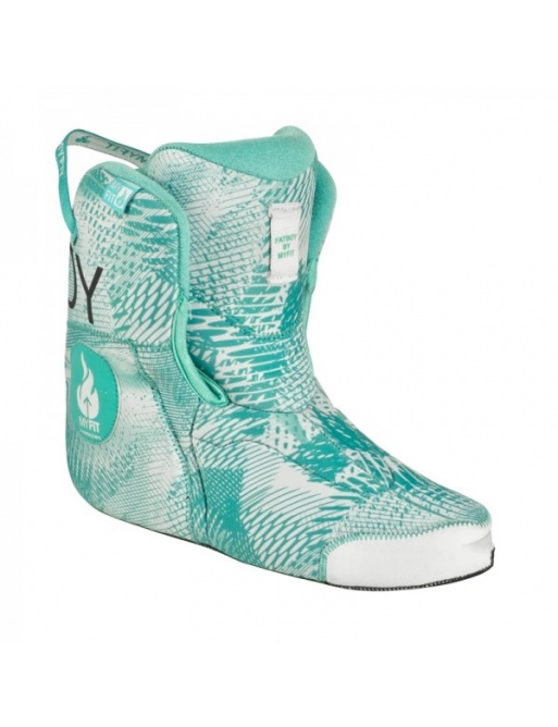 Zapato Powerslide MY FIT Fat Boy Medium Liner Teal Universe