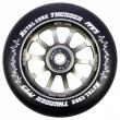 Rueda negra Metal Core Thunder 110 mm