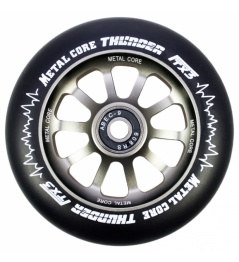 Rueda negra Metal Core Thunder 110 mm