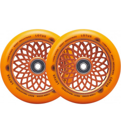 Ruedas Root Lotus 110x24mm Radiant Orange 2pcs