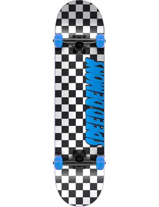 """Patineta Speed Demons Checkers 7.25 """"Azul"""