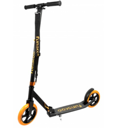 Funscoo 200 mm plegable scooter naranja