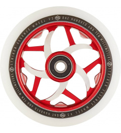 Wheel Striker Essence V3 Blanco 110mm rojo
