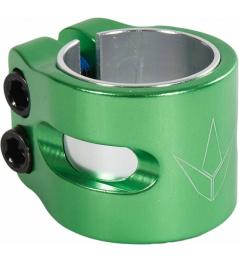 Enchufe romo Twin Slit verde