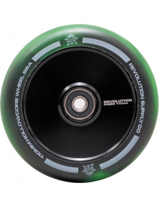 Kolečko Revolution Supply Hollowcore Fused 110mm zelené
