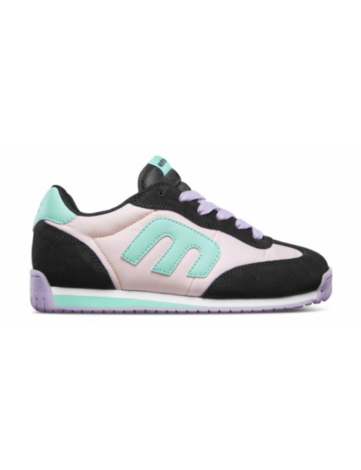 Zapatos Etnies Lo-Cut CB negro / rosa / verde 2019/20 mujer vell.EUR38,5