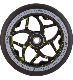 Wheel Striker Essence V3 Negro 110mm Verde Splash