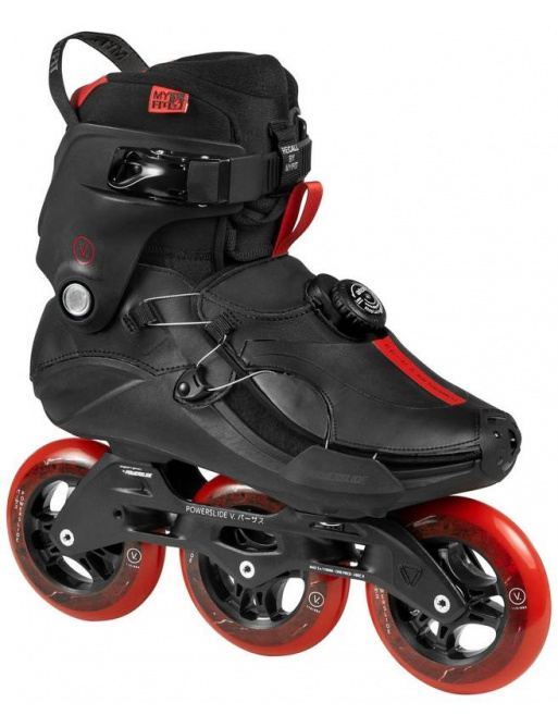Patines Powerslide Vi Jasper Red 110 Trinity
