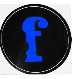 Pegatina Sabor F Azul