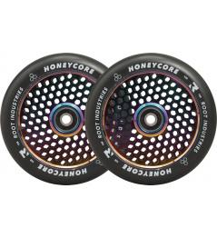 Ruedas Root Industries Honeycore negras 120mm 2pcs Neochrome