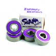 Rodamientos Slamm Infinity 4pcs Púrpura