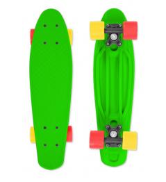 Patineta FIZZ BOARD Verde, Rojo-Amarillo PU, verde