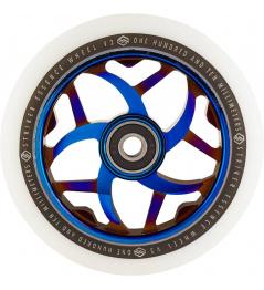 Rueda Striker Essence V3 Blanco 110mm Azul Cromado