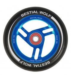 Bestial Wolf Race 100 mm rueda negro-azul
