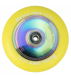 Metal Core Disc 110 mm amarillo de ricino