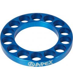 Espaciador de dirección Apex 5mm azul