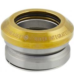 Auriculares Striker Integrated Gold Chrome