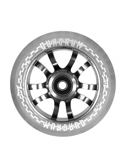 Rueda AO Quadrum 115mm Transparente
