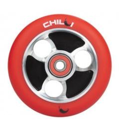 CHILLI Parabol 100 mm rueda roja / negra