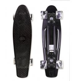 Skateboard Street Surfing BEACH BOARD Wipe Out, černý
