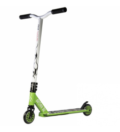 Bestial Wolf Demon D2 scooter freestyle verde