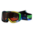 Gafas de nieve Quiksilver Fenom Art Mirror green / orange chrome 2013/14 kids