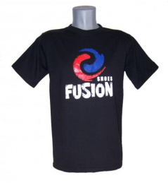 Camiseta Fusion negra
