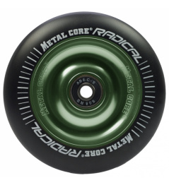 Metal Core Radical 100 mm hierro fundido negro