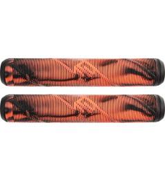 Puños Striker Thick Logo Negro / Naranja