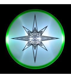 Létající talíř Aerobie SKYLIGHTER zelený