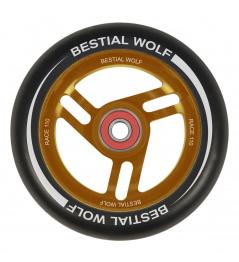 Bestial Wolf Race 110 mm rueda negro naranja