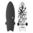 Longboard Street Surfing SHARK ATTACK Gran blanco