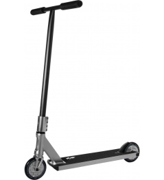 North Switchblade 2021 Freestyle Scooter (plateado y negro mate)