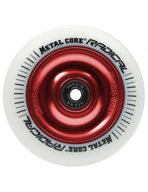 Núcleo de metal Radical 110 mm blanco de ricino blanco