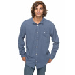 Camisa Quiksilver New Time Box 633 was0 vintage indigo 2018 vell.L