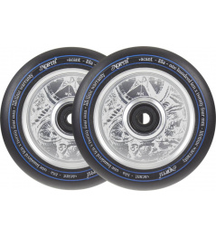 North Vacant V2 Pro Scooter Wheels 2-Pack (Plata)