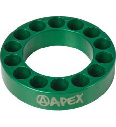 Espaciador de dirección Apex 10mm verde