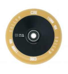 Rueda Núcleo Hollowcore V2 110mm Goma / Negro