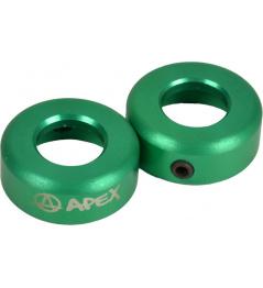 Terminales Apex verde