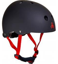 Casco infantil Triple Eight Lil 8 Pro negro mate