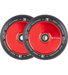 Ruedas Root Industries Air Black 110mm 2pcs rojo